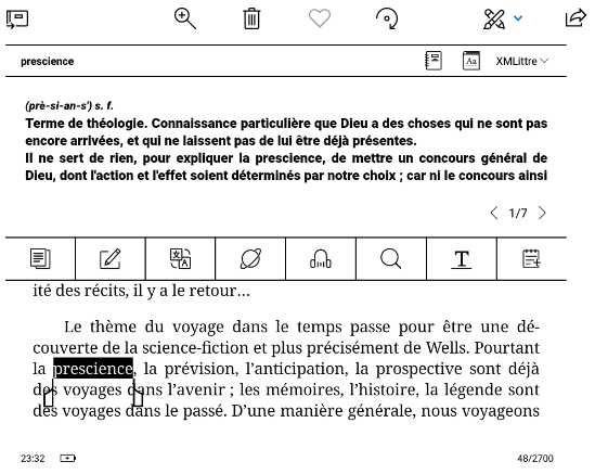Koreader, BOOX Onyx dictionnaires francais telecharger + tutoriel