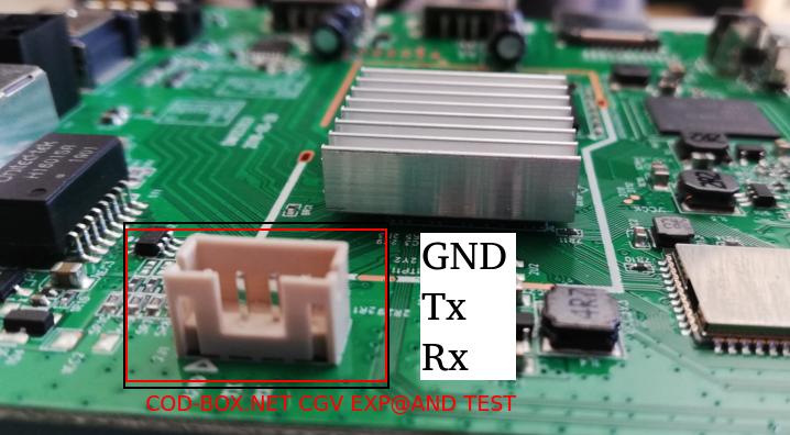 CGV EXPAND serial port