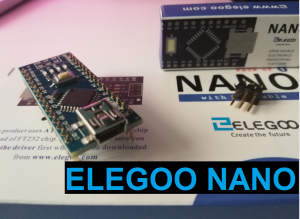 Brancher ELEGOO NANO pour la premiere fois