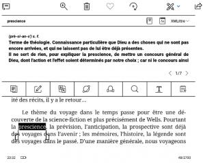 Koreader, BOOX Onyx dictionnaires francais telecharger + tutoriel