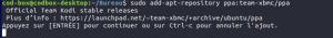 Ubuntu install KODI PPA derniere version