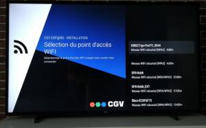 CGV EXPAND configurer reseau