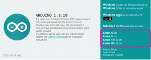 Installation Arduino sur Ubuntu
