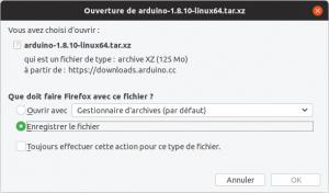 Ubuntu télécharger IDE Arduino