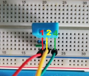 Câblage Arduino DHT 11