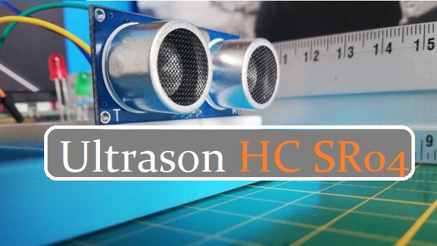 Mise en marche de capteur Ultrason HC SR04