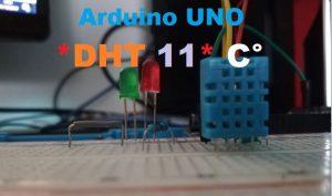 Mise en marche du capteur DHT11