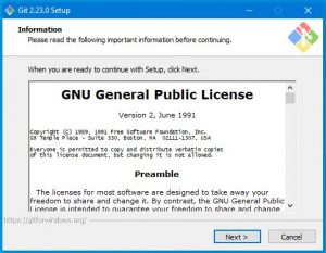 Utiliser Git sur Powershel 1 instalation
