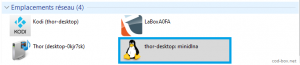 Ubuntu mini DLNA conexion Windows