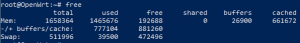 ZIDOO OpenWRT commande free RAM info