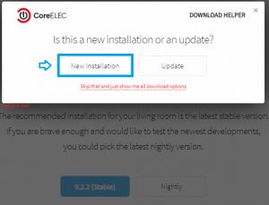 CGV EPAND Dual-BOOT Android + CoreElec