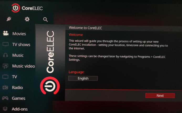 EX@ND CoreElec 9.2.2