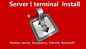 transmission install server, Raspberry, Banana, Odroid
