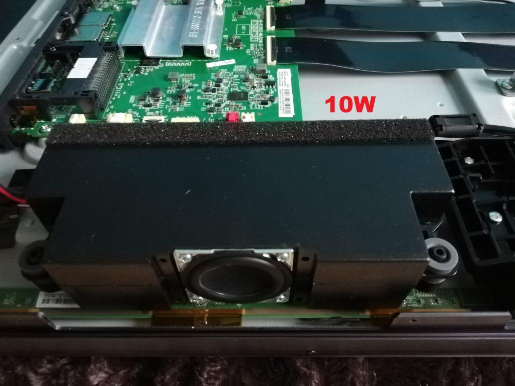 TCL 55 C715 audio 10W repro