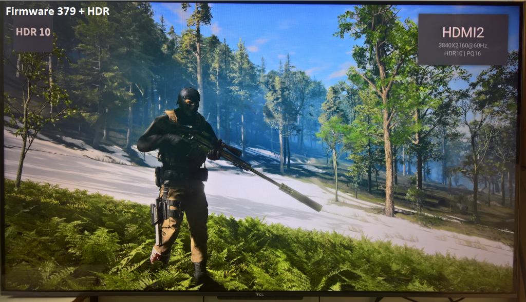 Preview TCL C715 HDR firmware 379 XBOX