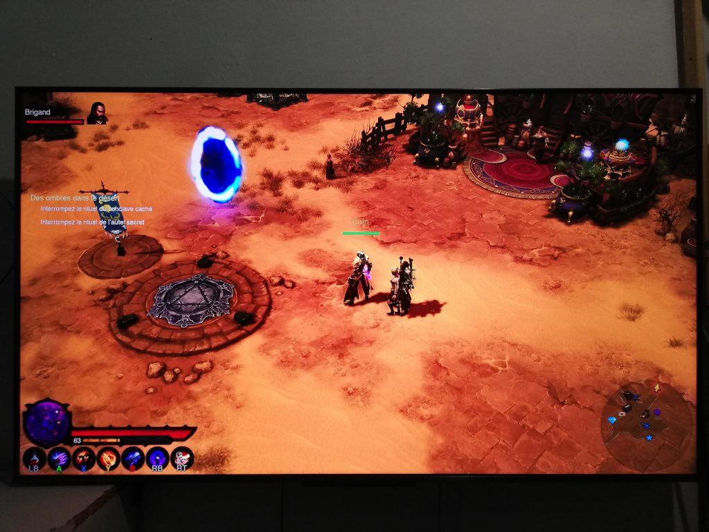 TCL C715 upgrade firmware Diablo 3 XBOX 1