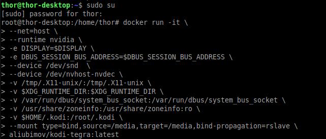 KODI + Nvidia Jetson with encoding