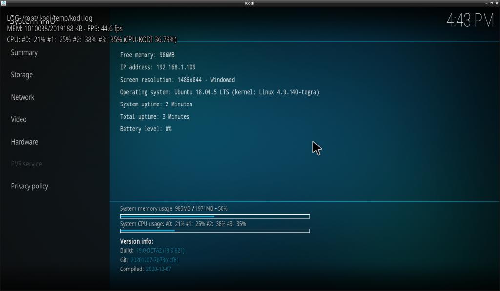Nvidia Jetson KODI + decoding MKV (1)