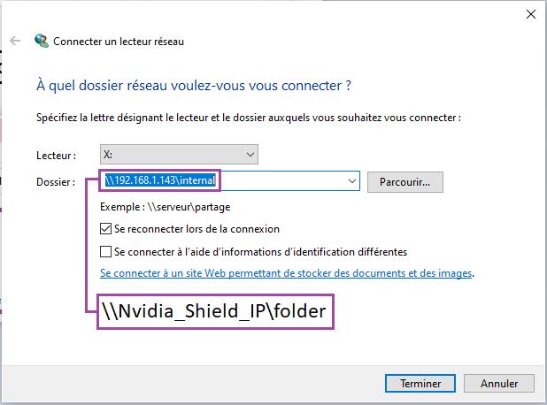 Nvidia Shield add samba