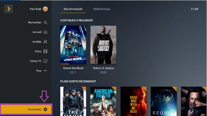 Nvidia Shield PLEX add .bundle