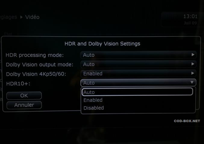 DUNE HD Vision new Alfa update